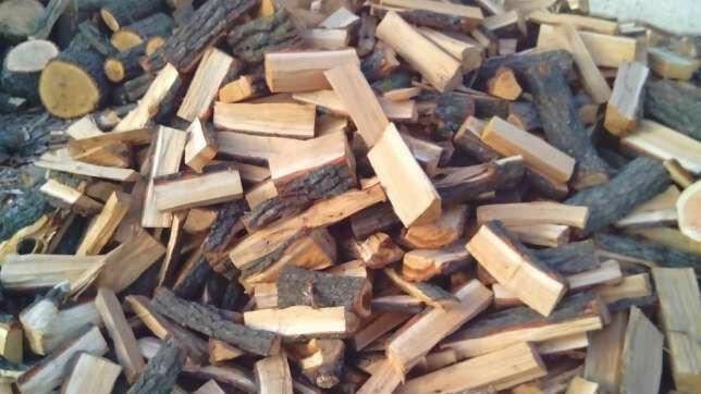 дрова с доставкой. дуб/ясень. Колотые обрезки доски брикеты топливные