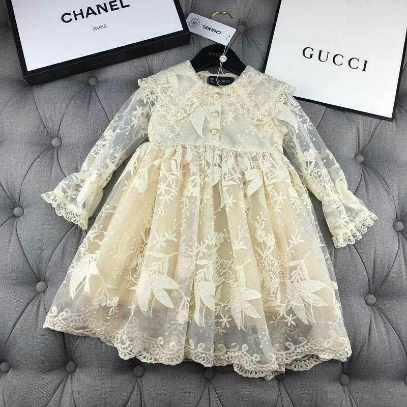 Платье для девочек Chanel 100-150