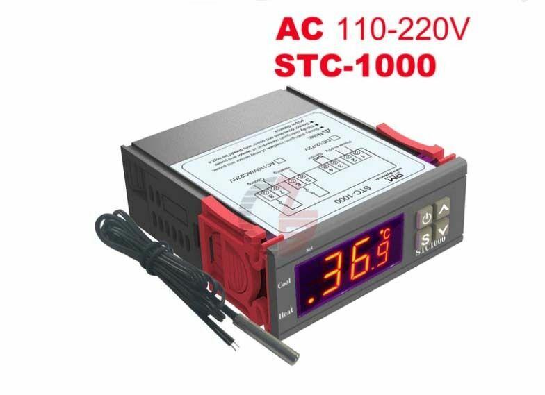 Терморегулятор STC-1000 AC-220В .термореле.