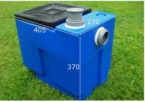 Сепаратор жира под мойку501 (жироловка)  -польша