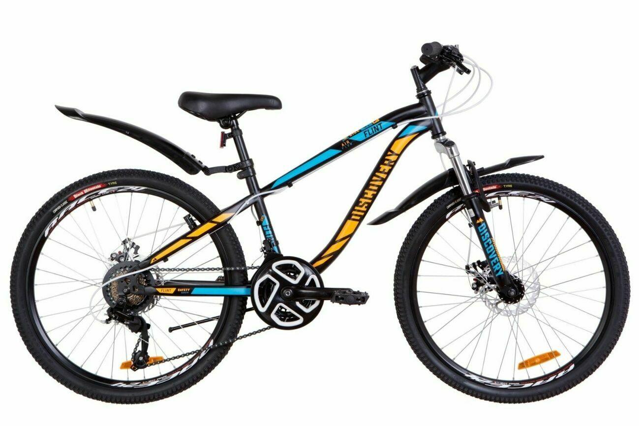 """Подростковый велосипед 24"""" DISCOVERY FLINT AM DD 2019, 5 расцветок."""