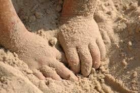 Песок для детей в мешках