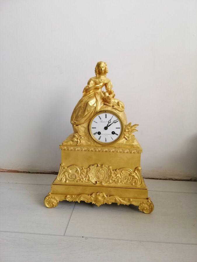 68bc6ca3 Антикварные каминные часы конец XIX века: 23 550 грн. - Антиквариат ...