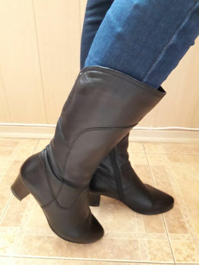 e1b933a7f Продам женские кожаные сапоги(весна-осень): 600 грн. - Сапоги ...