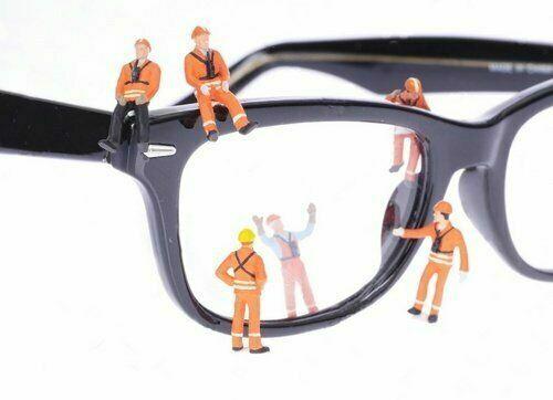 Ремонт окулярів ремонт очков замена оправ