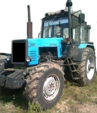 сельскохозяйственный колесный трактор МТЗ 1221, 1999 г.в.