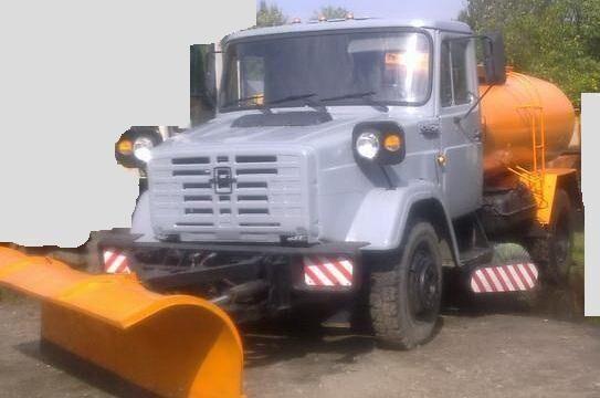 Продаем поливомоечную машину МДК со щеткой, ЗИЛ 433362, 2005 г.в.