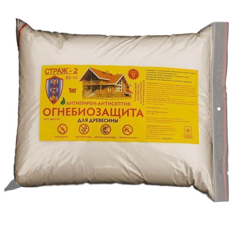Антисептическая огнебиозащита для древесины
