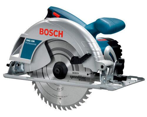 Аренда, прокат. Ручные дисковые пилы Bosch GKS 190