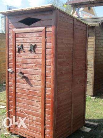 Туалет деревянный в чернигове