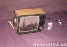 Сувенир светомузыкальный ТЕМП, радио в виде моленького телевизора СССР