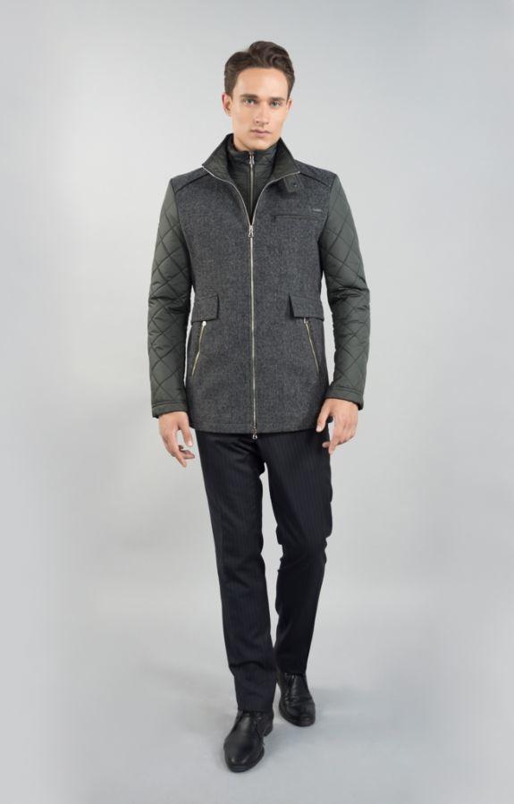 Фото - Мужская зимняя куртка Sun's House V-925 (Comby)