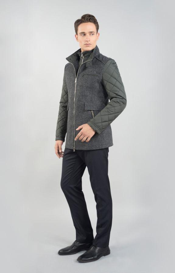 Фото 2 - Мужская зимняя куртка Sun's House V-925 (Comby)