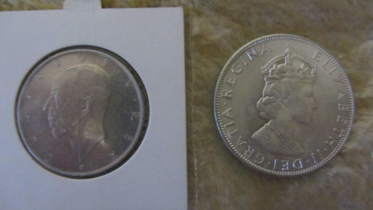 Фото 2 - Монеты зарубежные(серебро, медь)!