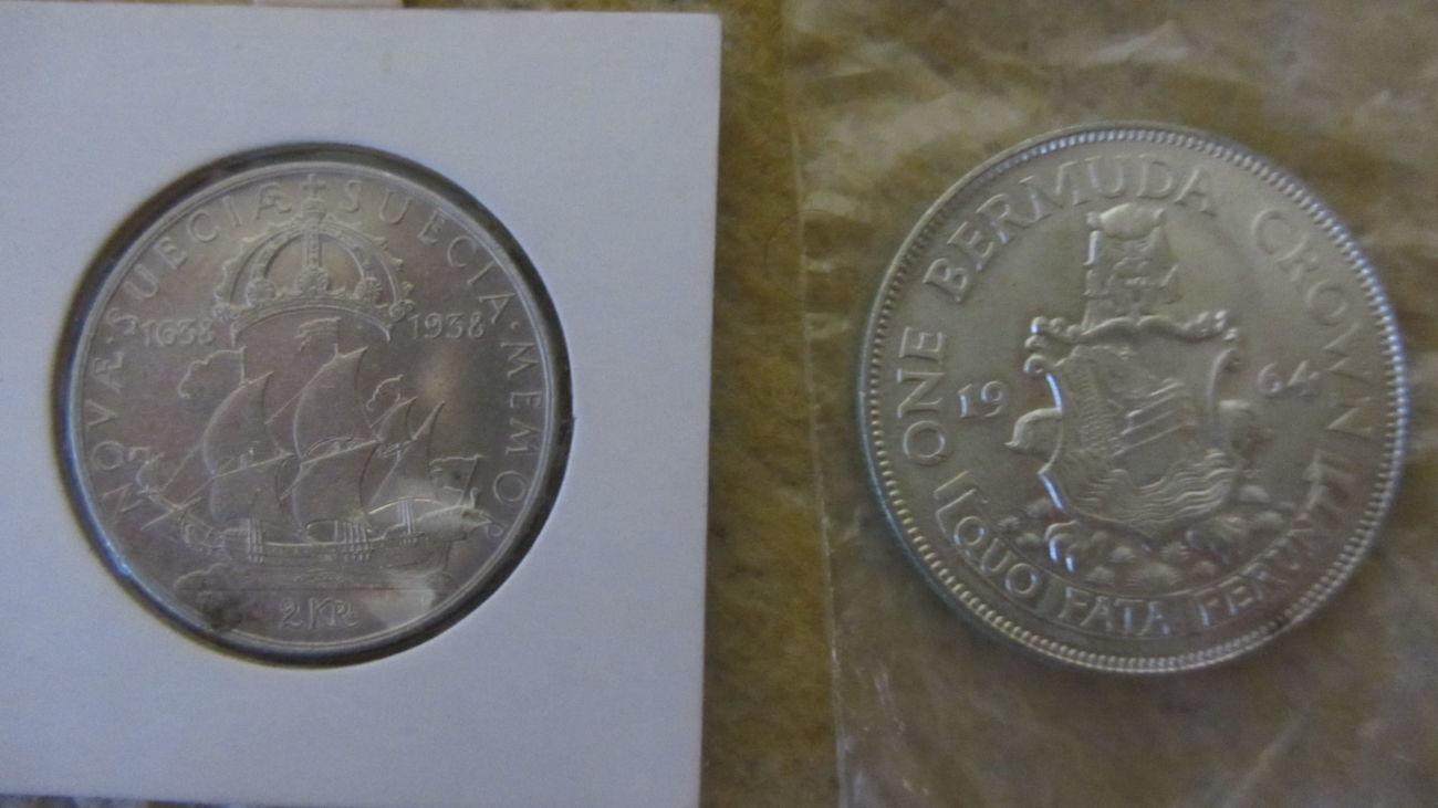 Монеты зарубежные(серебро, медь)!