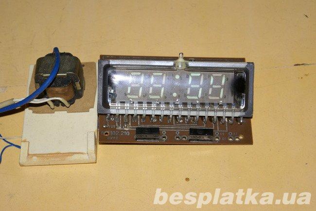 Микросхема крик схема электронных часов.