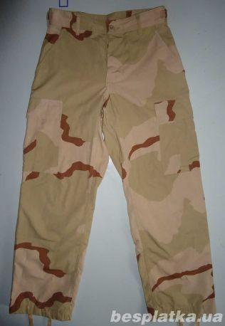 штаны брюки милитари  камуфляжные  COMBAT  Desert  (ХS)