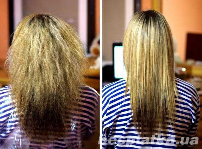 Кератиновое выпрямление волос технология выполнения
