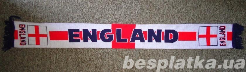 шарф клубный ENGLAND сборной Англии