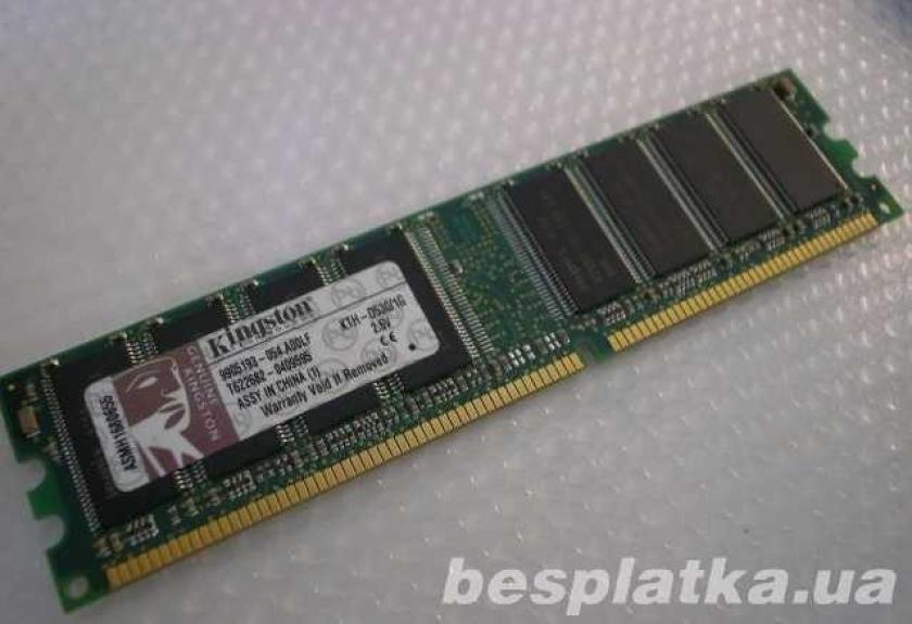 Фото - Оперативная память модуль памяти DDR 1 (DDR I) на 1GB DDR 400 PC 3200