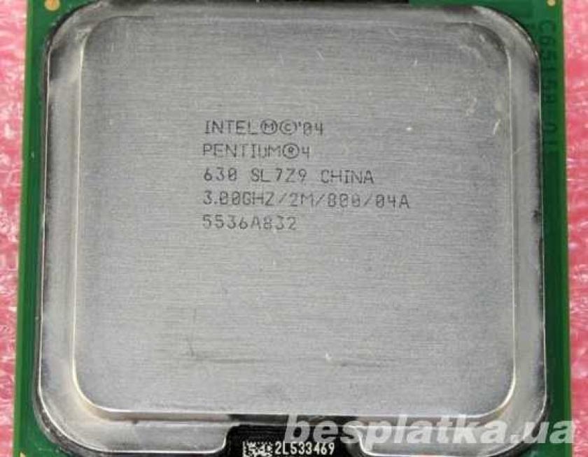 Фото - Процессор Socket 775 LGA775 Intel Pentium 4 (IV) 630 3,0Ghz/2M/800