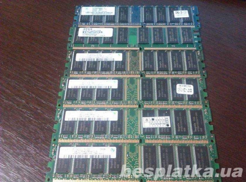 Фото - Оперативная память модуль памяти DDR 1 (DDR I) на 512mB DDR400 PC 3200