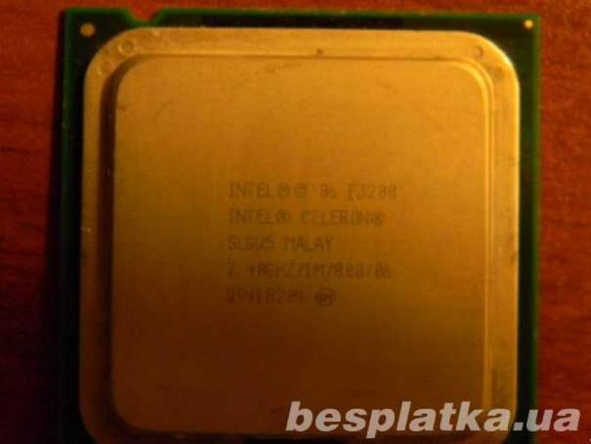 Фото 2 - Процессор на 2 ядра LGA775 Intel CELERON Dual-CORE E3200 2ядра по2.4Gh
