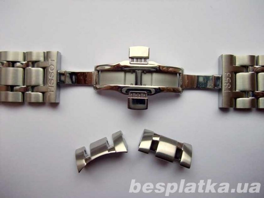 стальной браслет для часов tissot наносят тело