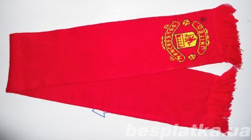 Шарф клубный Manchester United