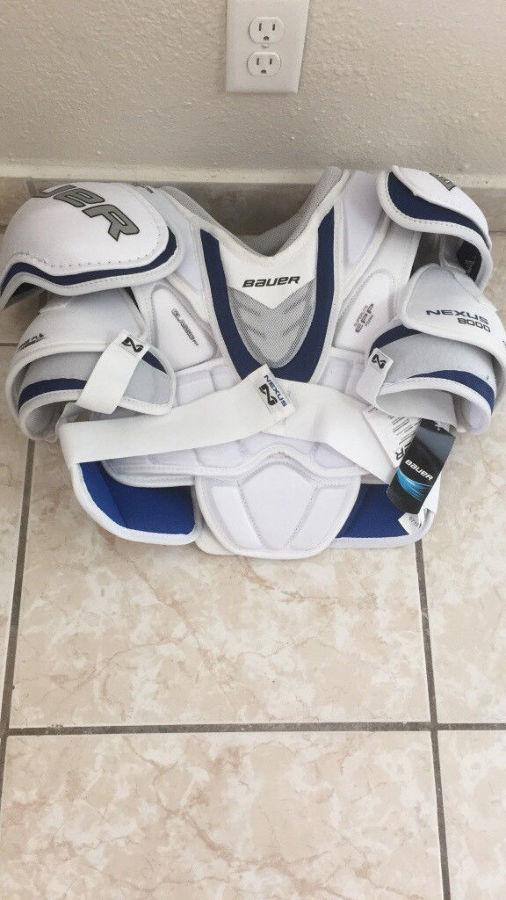 Фото 2 - Хоккейный нагрудник NEXUS 8000 размер XL новый
