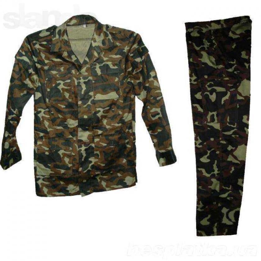 Фото 3 - Военный камуфляж Украина (дубок), для военных, хорошего качества