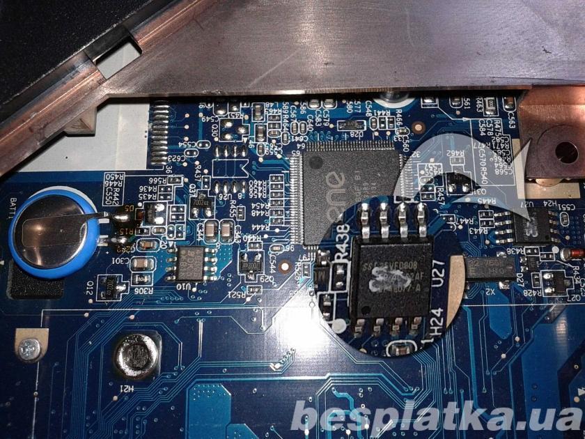 Прошивка BIOS ноутбука (сброс пароля,восстановление после обновления )