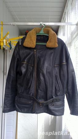Фото 4 - Кожаная куртка