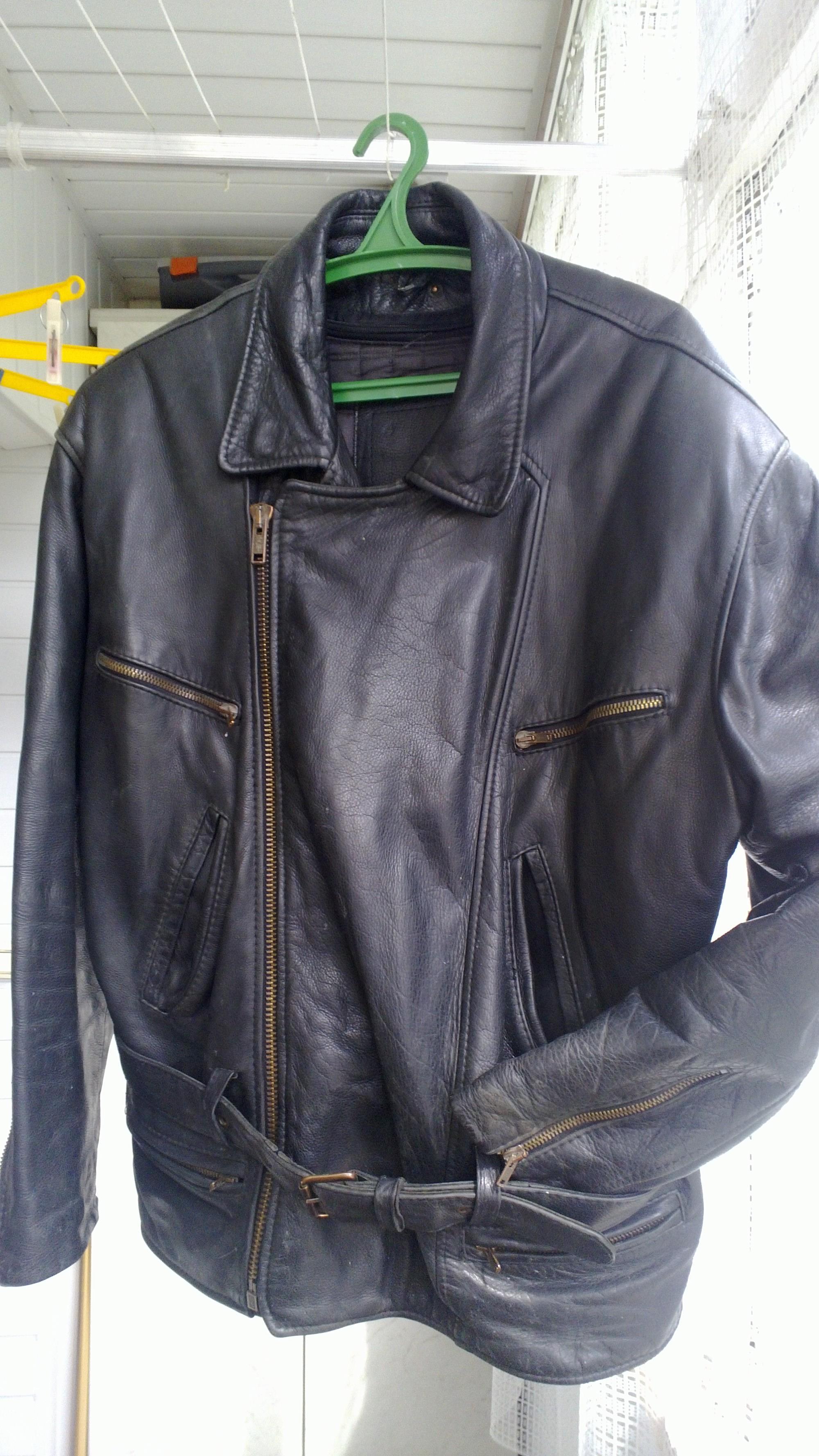 Фото 6 - Кожаная куртка