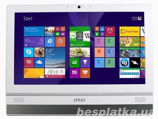"""Продам новый компьютер """"Все в одном"""" Msi Adora20 из германии"""