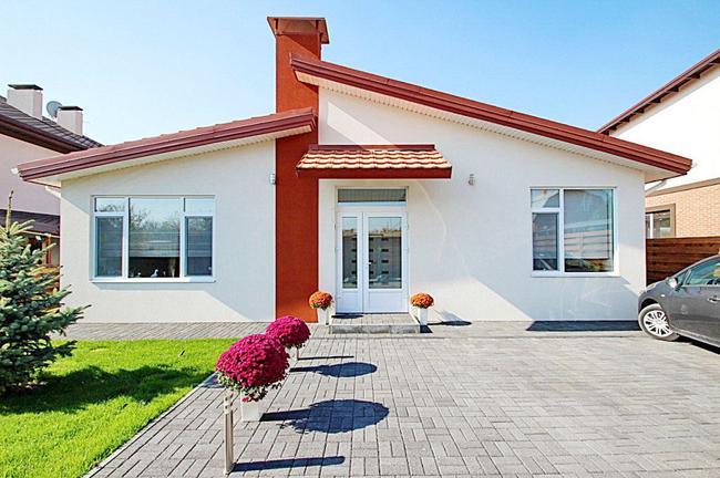 Дом в европейском стиле  в Новоалександровке!Заходи и живи!