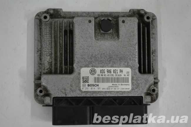Блок управления двигателем 1.9 BLS Volkswagen Caddy Фолькцваген  Кадді