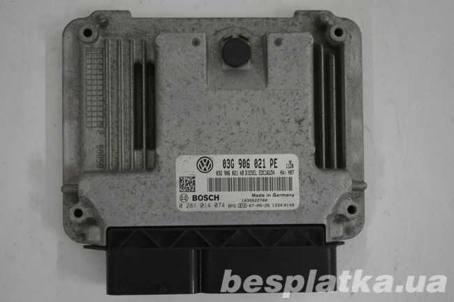 Блок управления двигателем 1.9 BSU Volkswagen Caddy Фолькцваген Кадди