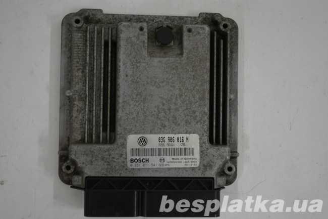 Блок управления двигателем 2.0 BDJ Volkswagen Caddy Фолькцваген Кадди