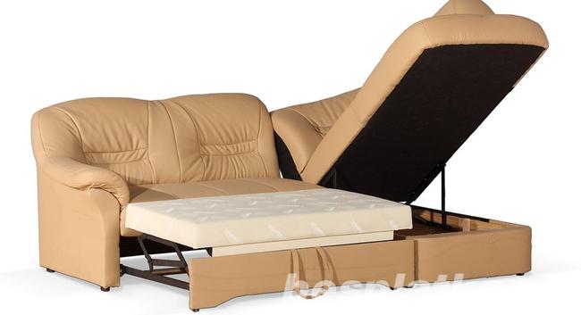 Фото 2 - Новый Кожаный угловой диван Milano 2,3 на 1,6 м. (Польша)