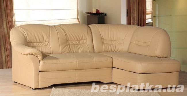 Фото - Новый Кожаный угловой диван Milano 2,3 на 1,6 м. (Польша)