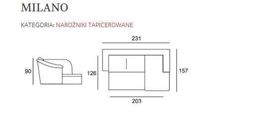 Фото 3 - Новый Кожаный угловой диван Milano 2,3 на 1,6 м. (Польша)