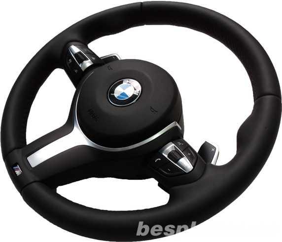 Фото - Руль с подушкой под лопатки BMW X5 F15 M-ПАКЕТ