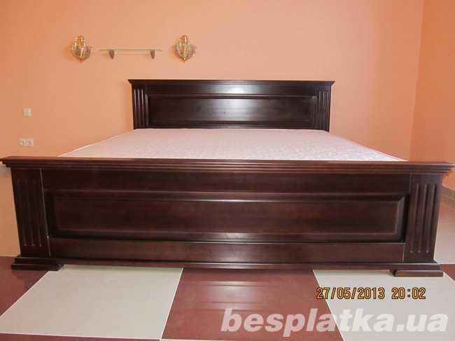 Ліжко з масиву Класика нова від виробника