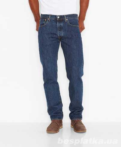388a3fb740a Американские джинсы Levis 501 Original Fit Jeans-Dark Stonewash (США ...