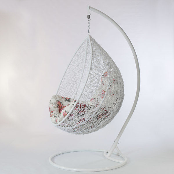 Фото 3 - Садовые качели кокон Гарди, подвесное кресло шар