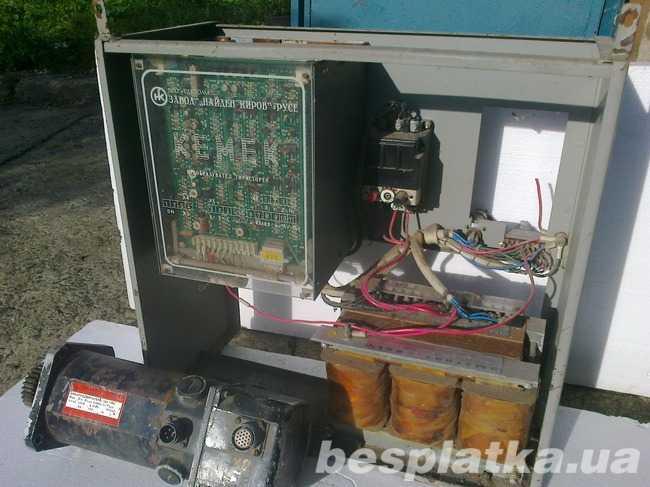 Продам комплектный электропривод Кемек(Б...