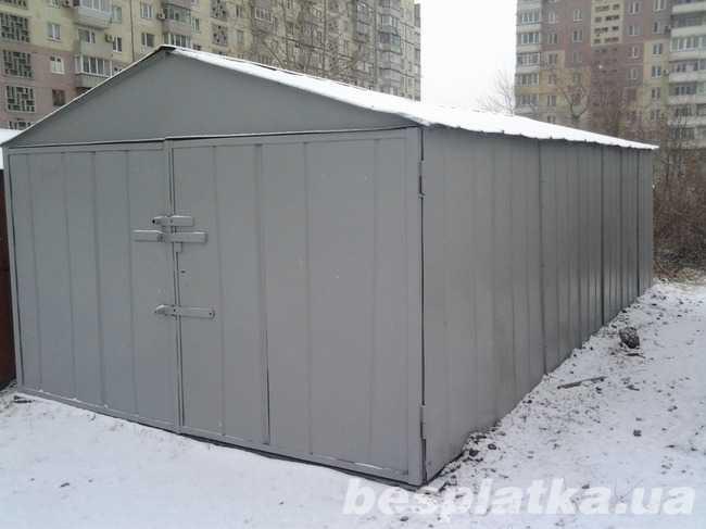 Фото - Продаем разборной гараж в г. Днепродзержинск заводского производства