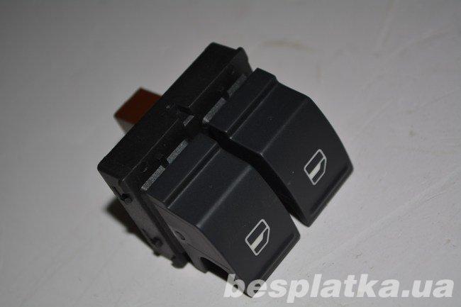 Выключатель электростеклоподъемника левый L Volkswagen Caddy Кадди