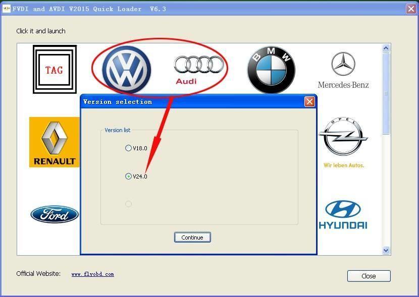 Фото 9 - Авто сканер FVDI Abrites Full. новая версия V24 VW и т.д.